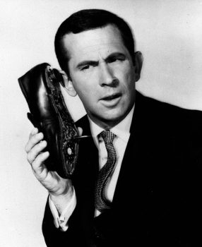 In this undated file photo, Don Adams is seen in character as Maxwell Smart. (AP Photo)