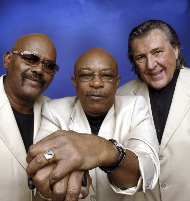 This undated photo provided by Universal Music shows the Funk Brothers, from left, Uriel Jones, Eddie Willis, and Bob Babbitt. Babbitt, a prominent Motown studio musician and Funk Brothers bassist, died Monday, July 16, 2012 in Nashville, Tenn. He was 74. (AP Photos/Universal Music, Diamond Photography)