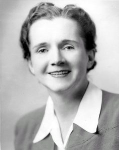 Rachel Carson (Wikimedia Commons/U.S. Fish & Wildlife Service)