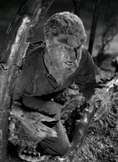 Lon Chaney as The Wolf Man (Image via Wikimedia Commons)