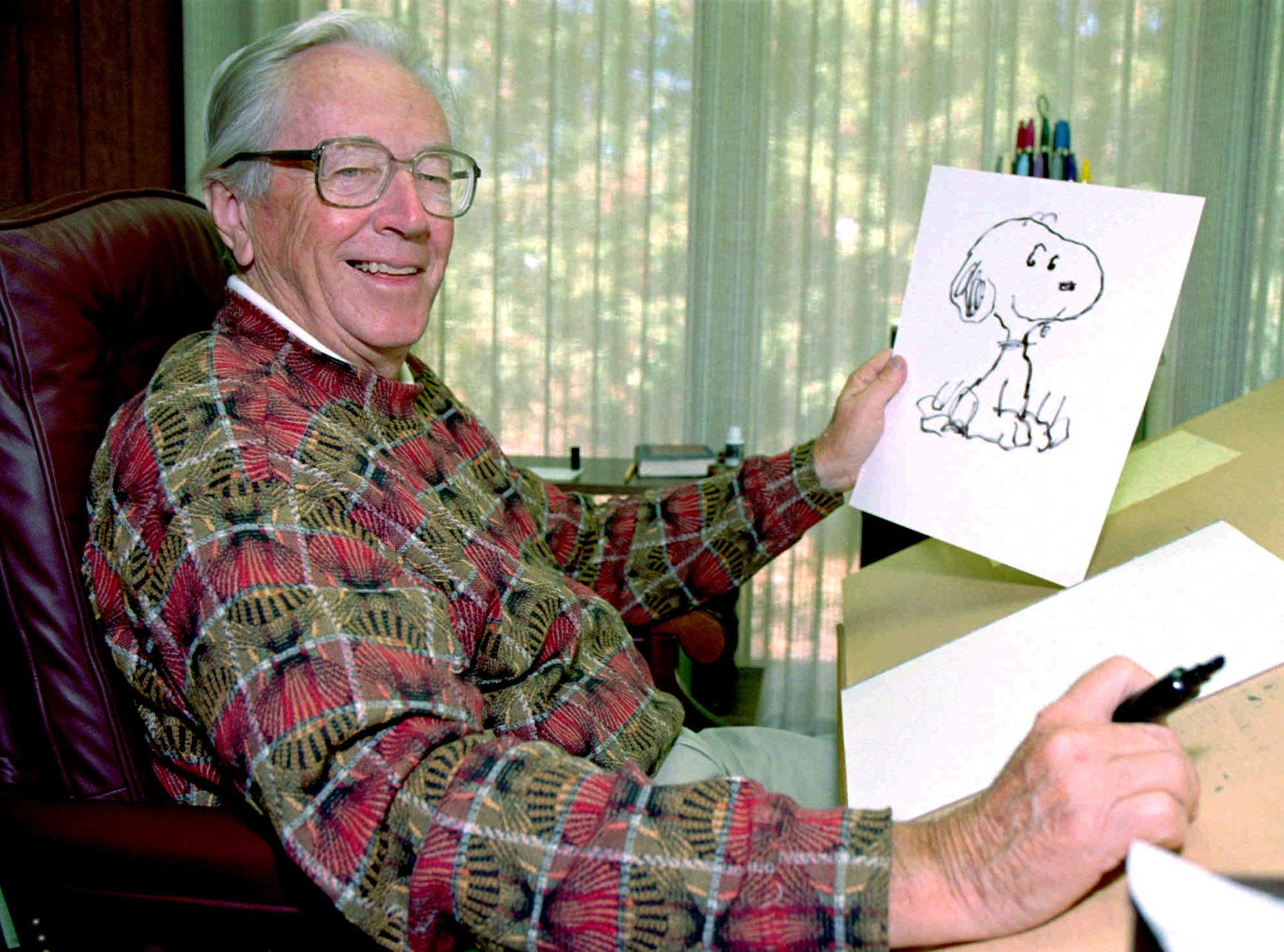 Charles Schulz (AP Photo / Ben Margot)