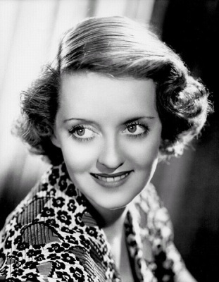 Bette Davis (Wikimedia Commons/movie studio promotional still)