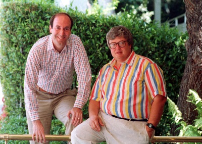 Roger Ebert and Gene Siskel (AP Photo / Douglas C. Pizac)