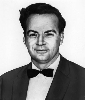 Richard Feynman, Physicist. He was one of three winners of the Nobel Prize for Physics. (AP-Photo) 15.12.1965
