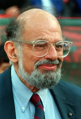 Poet Allen Ginsberg is shown in San Francisco in a June 1994 file photo. Ginsberg, a founding member of the beat generation of writers, has been diagnosed with terminal liver cancer. The diagnosis for the 70-year-old Ginsberg was made public Thursday, April 3, 1997, by his doctor and by Bill Morgan, a friend and the poet's archivist. (AP Photo/Susan Ragan, File)
