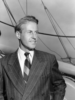 Thor Heyerdahl, Norwegian ethnologist and head of the Kon-Tiki expedition, arrives in San Francisco, Ca., from the South Pacific, in this Sept. 29, 1947 file photo.  (AP Photo)
