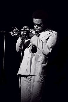 Freddie Hubbard, 1976 (Wikimedia Commons/Tom Marcello)