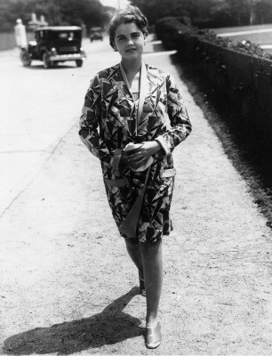 Barbara Hutton at Newport, Rhode Island, July 1929. (AP Photo)