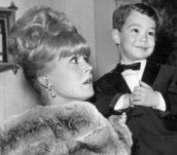 Actress Sandra Dee poses with her son Dodd Darin in Las Vegas,  Jan. 1966. Dee died of complications from kidney disease on Feb. 20, 2005. (AP Photo)