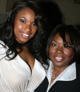 Actress-singer Jennifer Hudson and mother Darnell Donerson attend the 'Dreamgirls' New York Premiere on December 4, 2006 in New York City. Donerson was killed, along with her son Jason Hudson and grandson Julian King, on Oct. 24, 2008. (Photo: Getty Images / FilmMagic / Bruce Glikas)