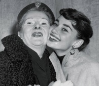 Actress Audrey Hepburn, right, extends a fond greeting to her mother, Baroness Ella van Heemstra, after she arrived at Hoboken, N.J., Dec. 17 1953, on the liner Niew Amsterdam. Van Heemstra died in 1984, and Hepburn died of cancer on Jan. 20, 1993. (AP Photo / File)