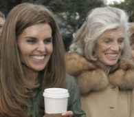Maria Shriver, left, and her mother, Eunice Kennedy Shriver in 2007. Eunice Kennedy Shriver, the sister of John, Robert and Ted, and the founder of the Special Olympics, died on Aug. 11, 2009. (AP Photo / Rich Pedroncelli)