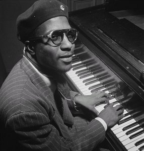 Thelonious Monk, 1947 (Wikimedia Commons/William P. Gottleib)
