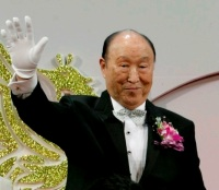 Sun Myung Moon (AP Photo/Ahjn Young-joon)