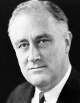 Photo of Franklin D. Roosevelt by Elias Goldensky (Wikimedia Commons)