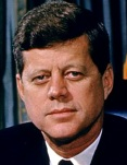 Photo of John F. Kennedy by Alfred Eisenstaedt (Wikimedia Commons)