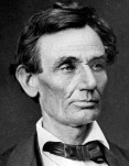 Photo of Abraham Lincoln by Alexander Hesler (Wikimedia Commons)