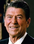 Photo of Ronald Reagan (Wikimedia Commons)
