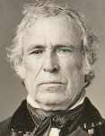 Daguerrotype of Zachary Taylor (Wikimedia Commons)