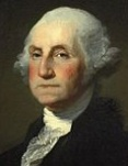 Portrait of George Washington by Gilbert Stuart (Wikimedia Commons)