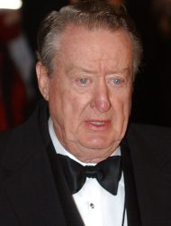 Actor and comedian Tom Poston is seen at the Kennedy Center in this Oct. 29, 2002 file photo, in Washington for the Mark Twain Prize for Humor Award, given to Bob Newhart. (AP Photo/Lawrence Jackson, File)