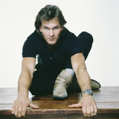 Patrick Swayze, 1992 (Terry O'Neill/Getty Images)