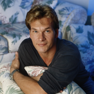 Patrick Swayze, 1990 (Nancy R. Schiff/Archive Photos)
