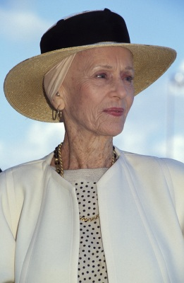 American film festival in Deauville, France on September 12, 1992 - Jessica Tandy. (Photo by Pool BENAINOUS/REGLAIN/Gamma-Rapho via Getty Images)