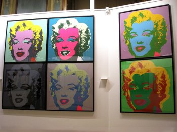 Andy Warhol's Marilyn Monroe (Flickr Creative Commons/Sonietta46)