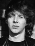Clive Burr (Photo by Virginia Turbett/Redferns)