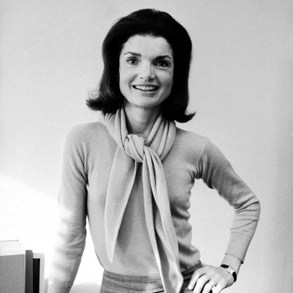 Jacqueline Kennedy Onassis in 1977