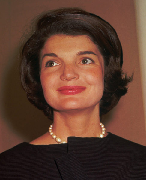 First lady Jacqueline Kennedy in 1961