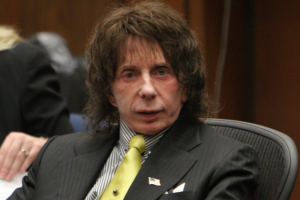 Phil Spector (1939–2021), influential record producer convicted of murder